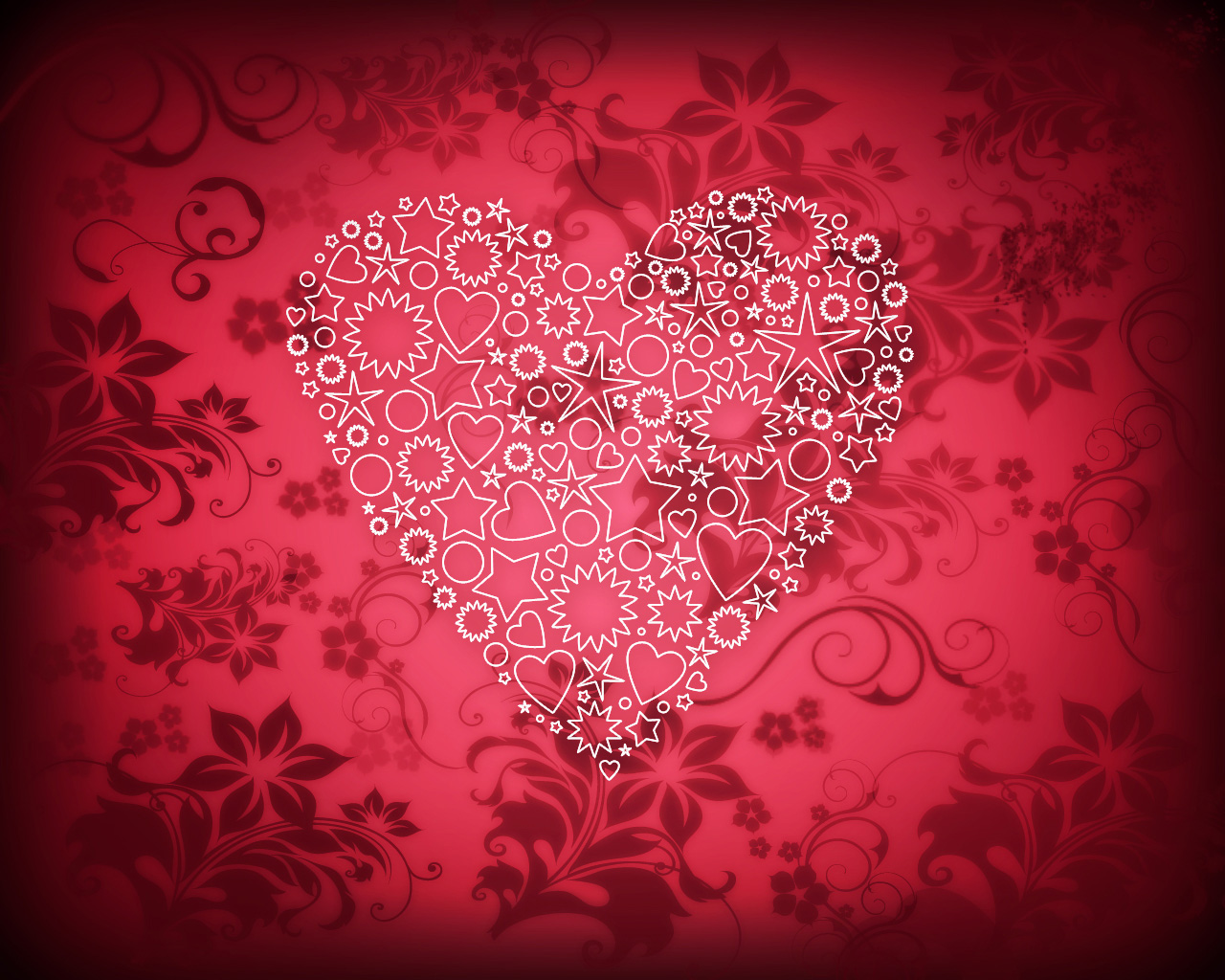 How To Create Elegant Valentine S Day Card With Ornamental