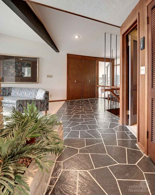 loving a mid century home