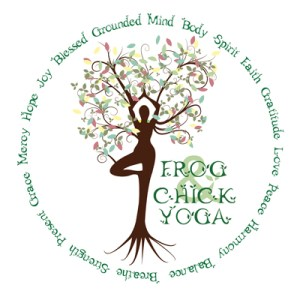 Frog and Chick Logo