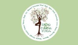 Frog & Chick Yoga Logo