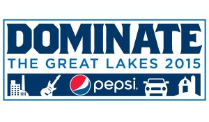 Pepsi Dominate the Great Lakes Logo