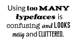 Common Typography Mistakes That Rookie Designers Tend To