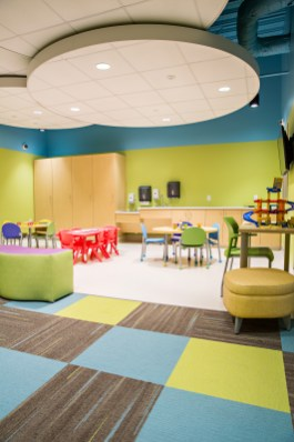 Children's Play & Waiting Area