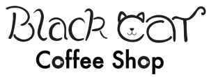Black Cat Coffee Shop Logo - Chloe copy