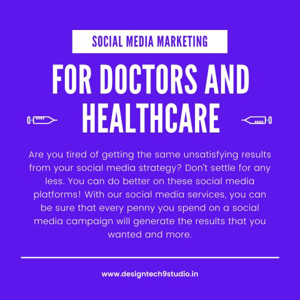 social media package for doctors