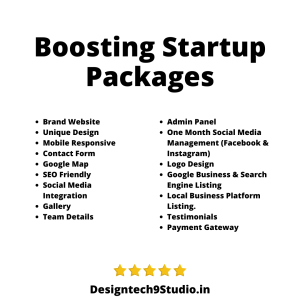 Boosting Startup Packages
