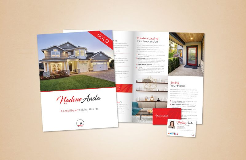 Nadene Aasla Marketing Materials