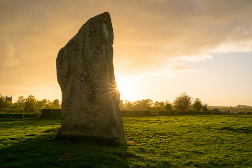 Avebury sunset