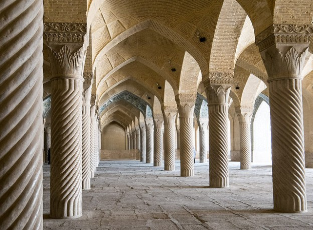 Vakil Mosque. Shiraz, Iran.