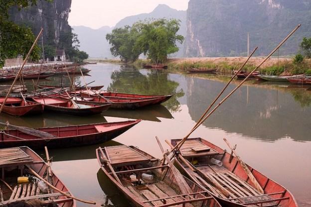Tam Coc River