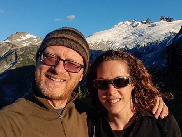 Us at Whatcom Pass