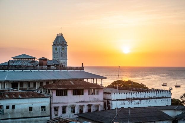 Stone Town sunset, Zanzibar