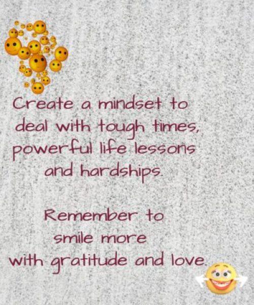 Create A Mindset