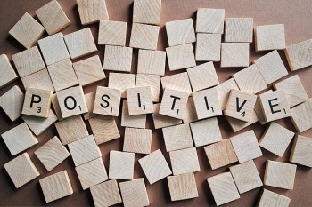 positive word tiles
