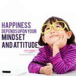 happiness depends upon your mindset