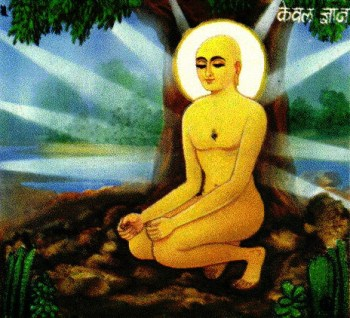The āsana in which Mahavira is said to have attained omniscience