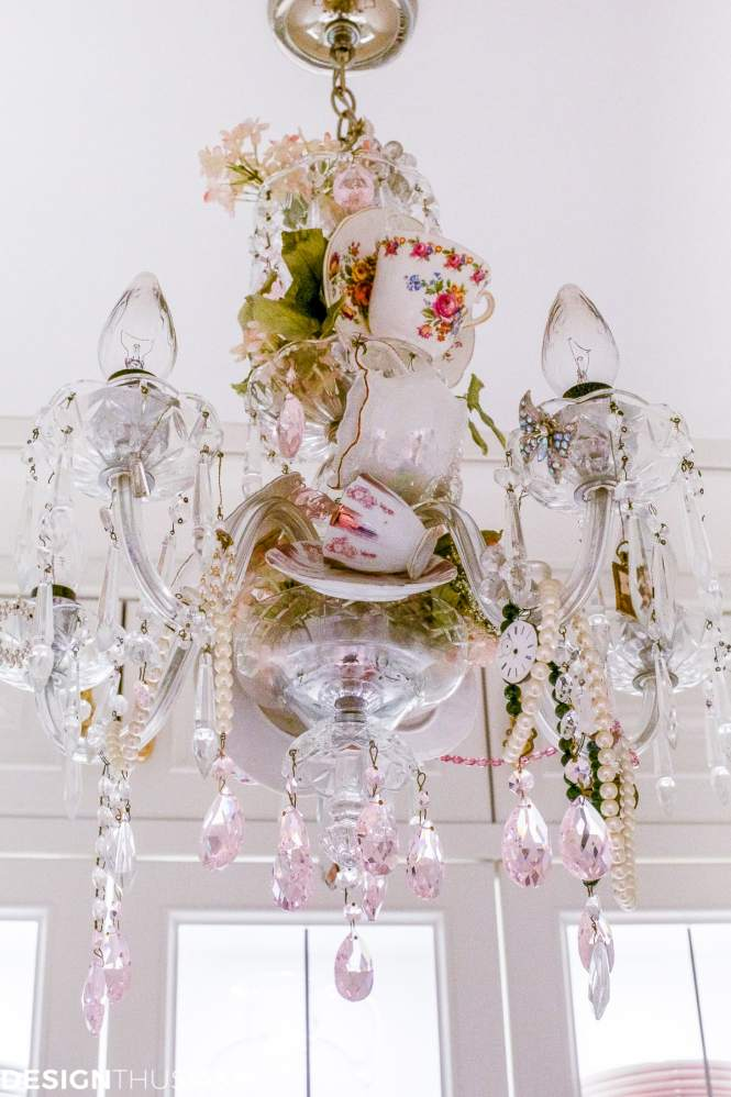 Teacup Chandelier How To Personalize Your Vintage Designthusiasm