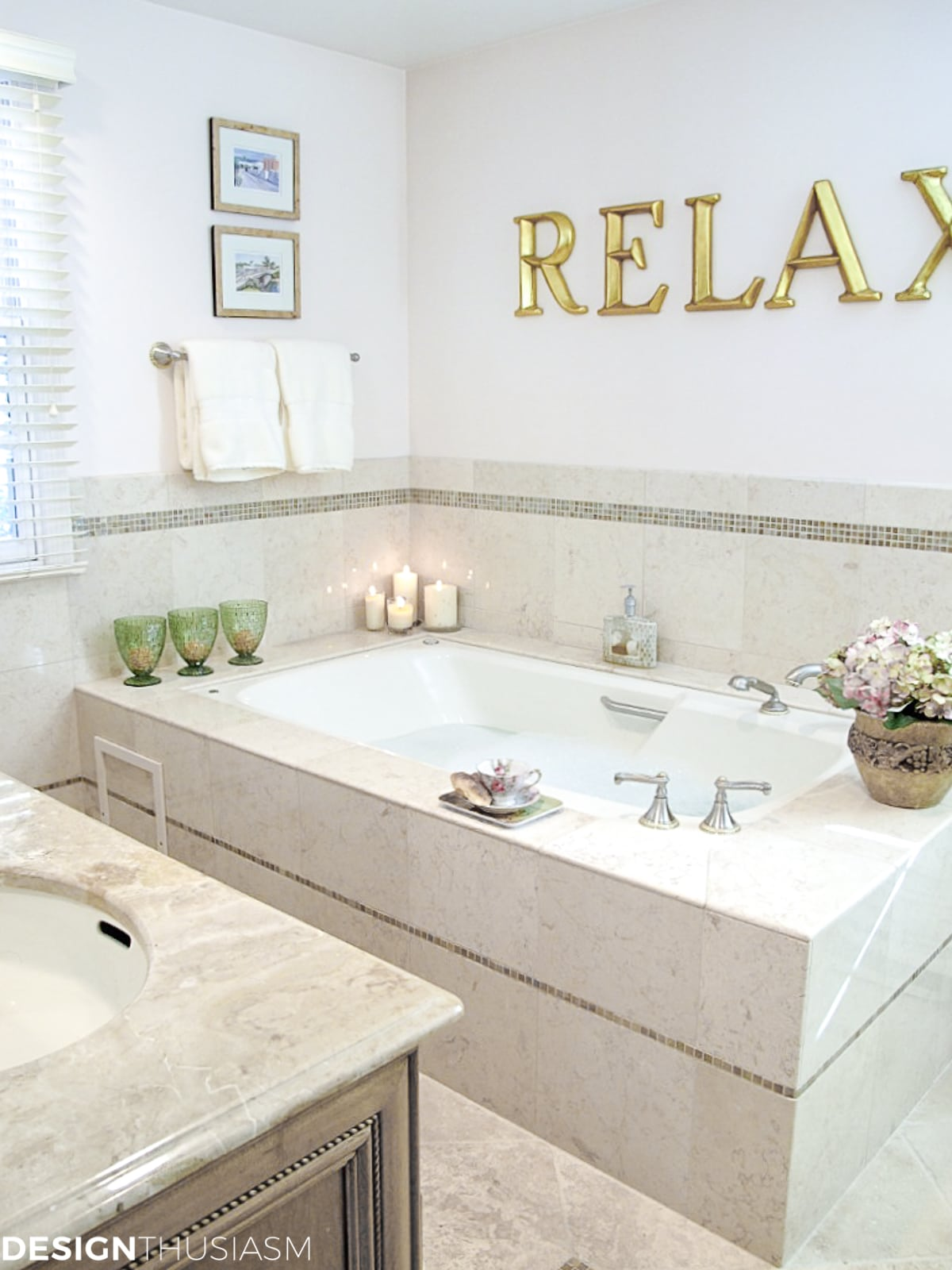 A Relaxing Master Bath Add On