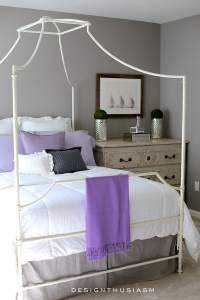 Grey Bedroom Ideas: Mixing Lilac and Grey in an Updated ...
