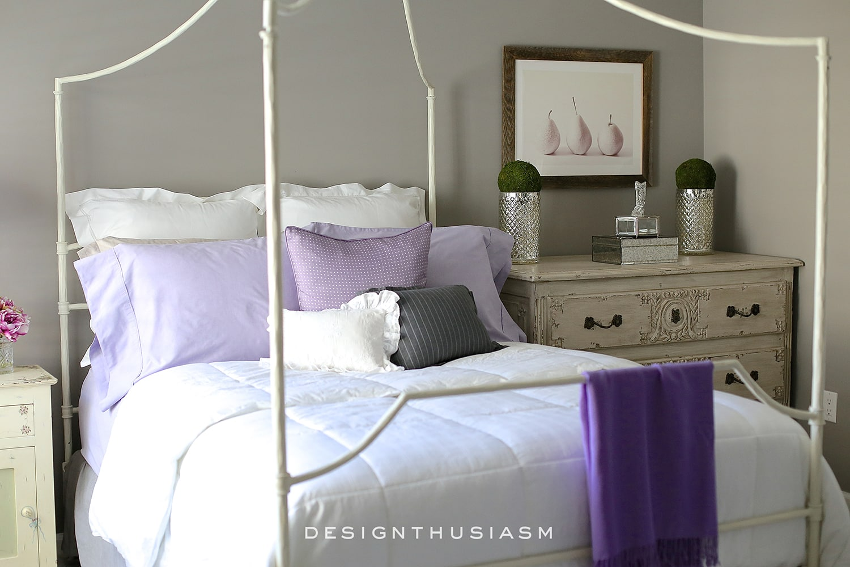 grey bedroom ideas mixing