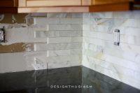 Calcatta Gold Marble Backsplash