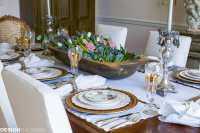 Setting a Dining Table to Reflect Your French Country Style