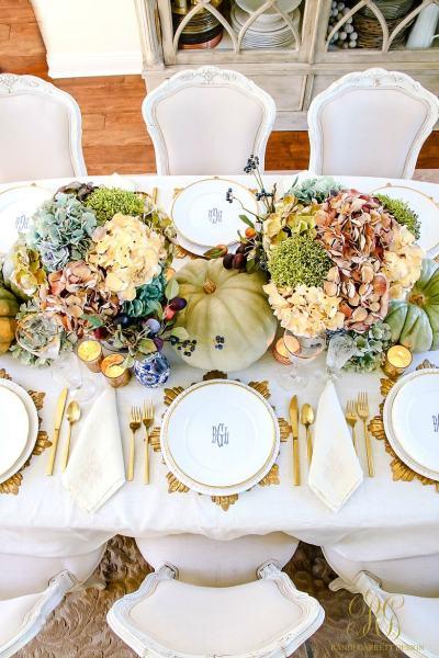 Heirloom Thanksgiving Table - Randi Garrett