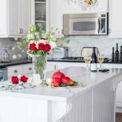 French Country Kitchen Lighting Layout Design Christmas Decor With Elegance