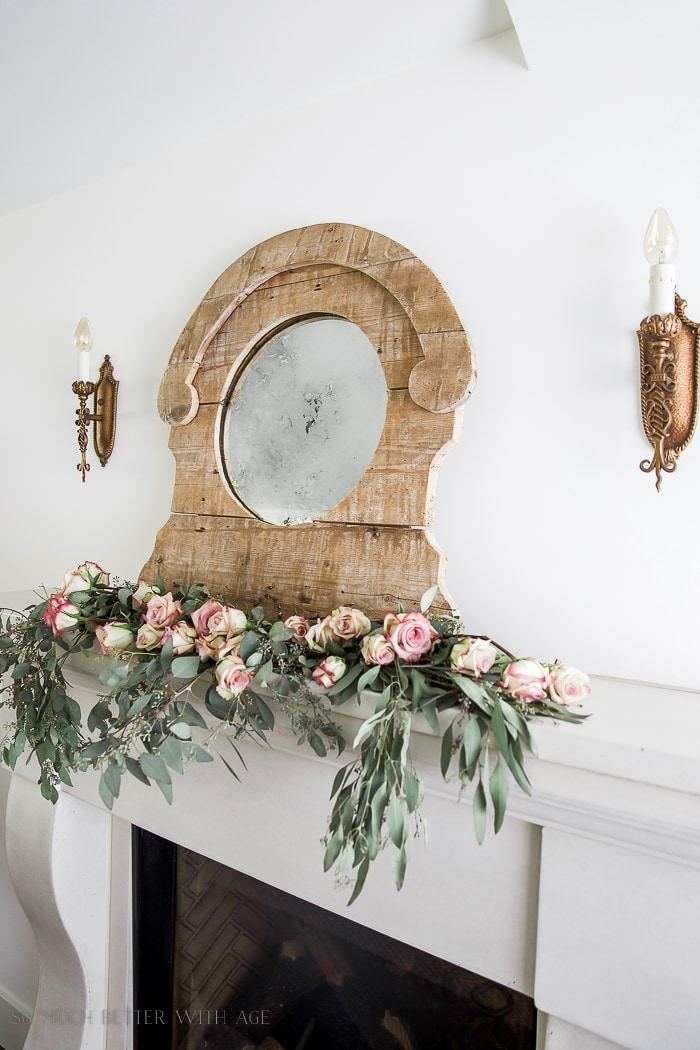 how-to-antique-a-mirror-roses-eucalpytus-french-vintage