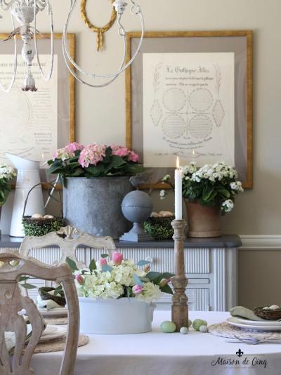 Easter Table Maison de Cinq