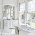 Master Bathroom Inspiration The Beauty Of White Marble Tile