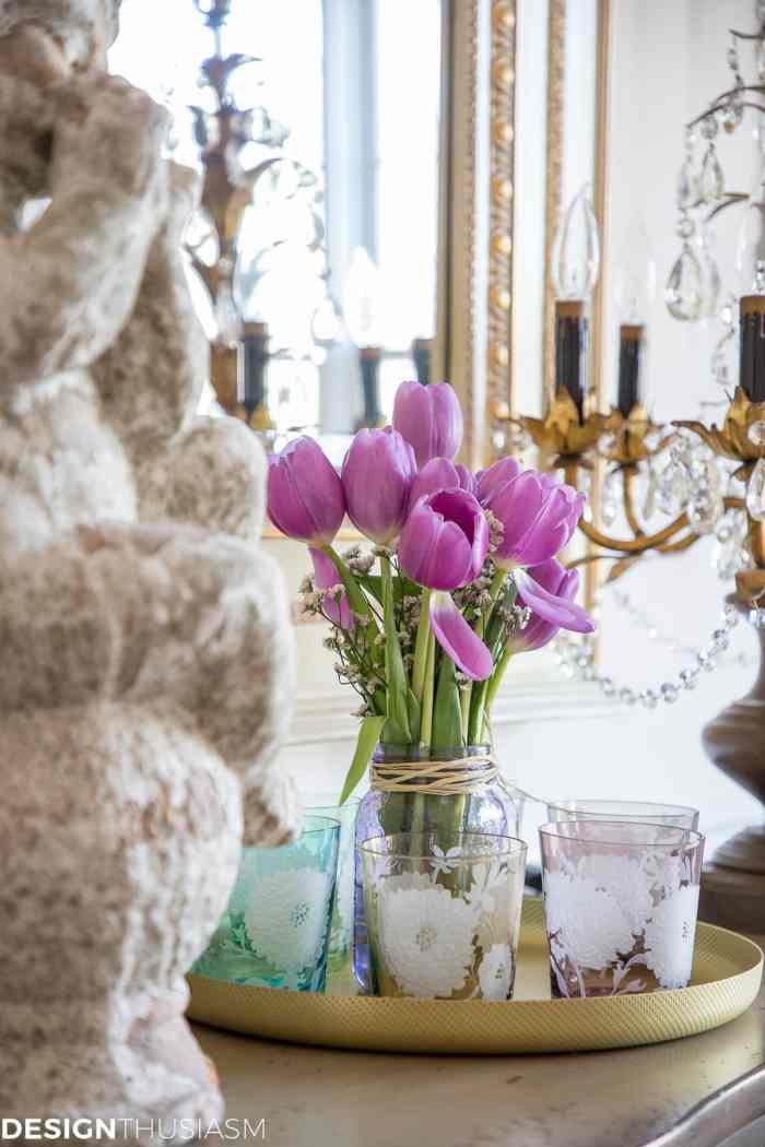 Spring Decorating Ideas Dining Room - designthusiasm.com