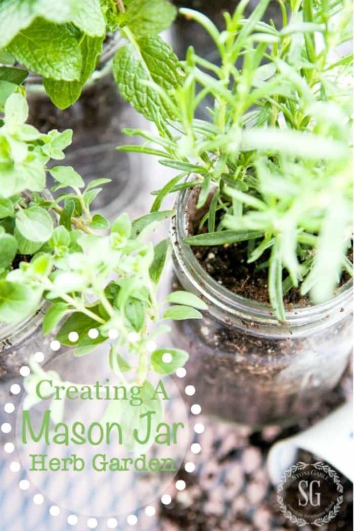 CREATING-A-MASON-JAR-HERB-GARDEN-A-10-minute-project