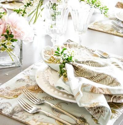 EASY, ELEGANT SUMMER TABLE