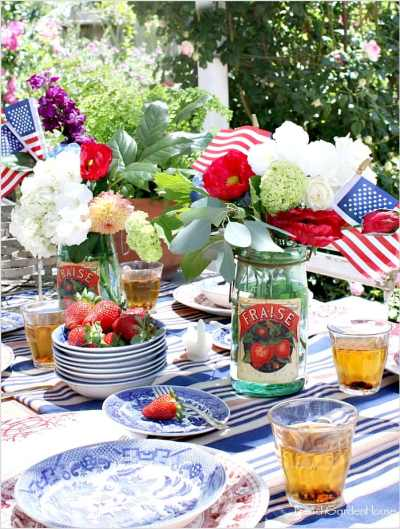 Set-a-French_Country-Summer-Table-flowers