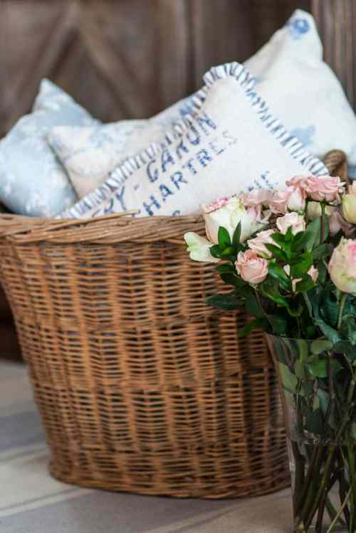 cedar hill farmhouse basket