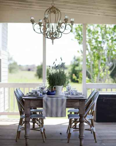 cedar hill farmhouse porch