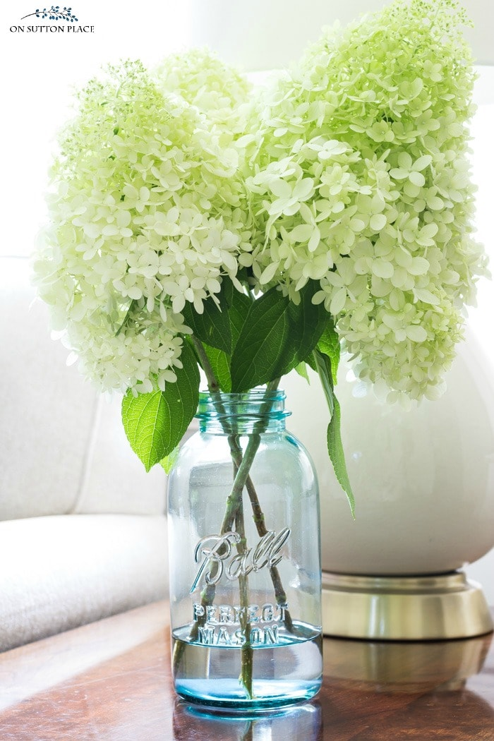 Tips for Arranging Hydrangeas from On Sutton Place