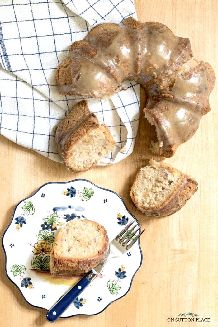 Apple Bundt Cake Recipe from On Sutton Place