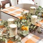 Diy Seeded Eucalyptus Garland Easy Fall Centerpiece On Sutton Place