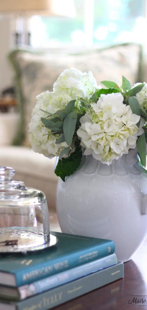 White Vase Hydrangeas_MdC