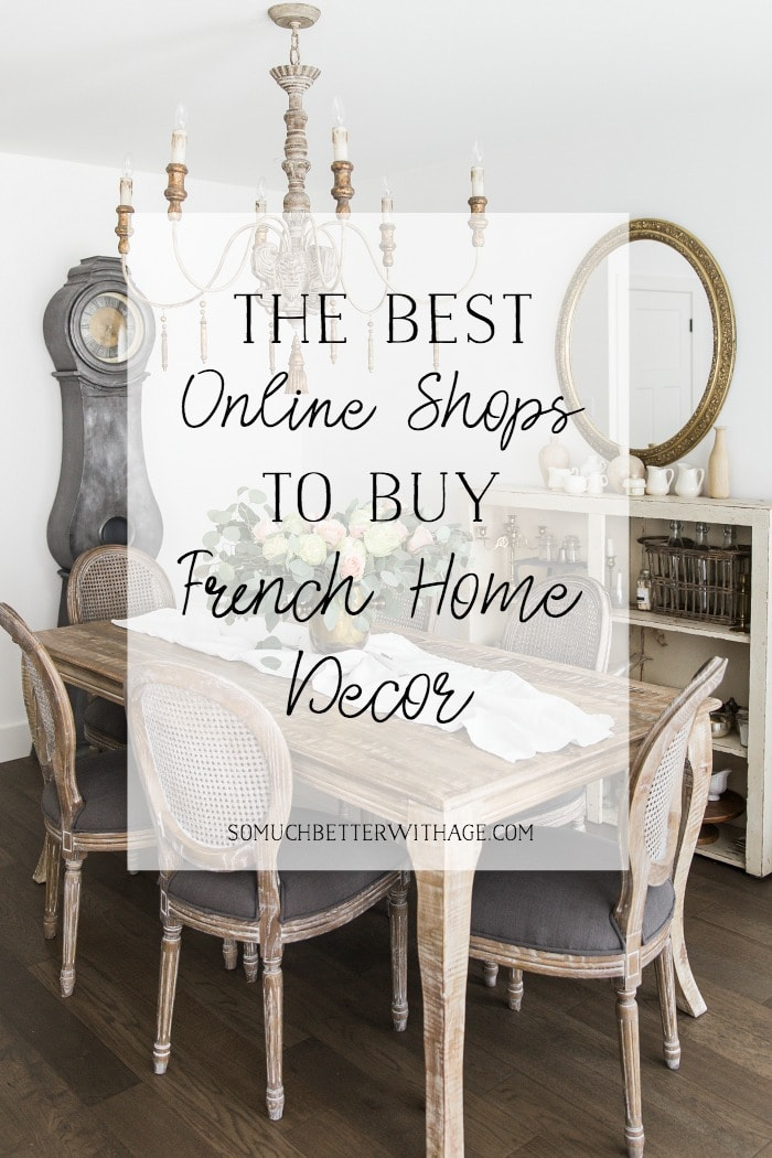 French Home Decor Online