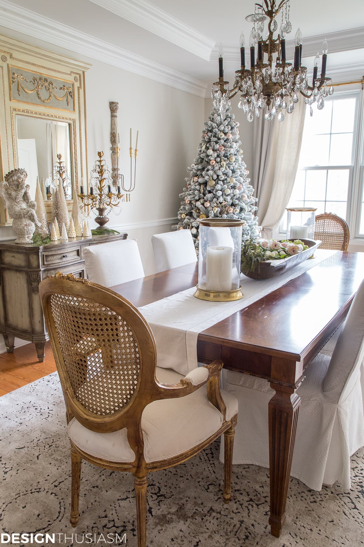 Elegant Christmas Dining Room Decorations Novocom Top