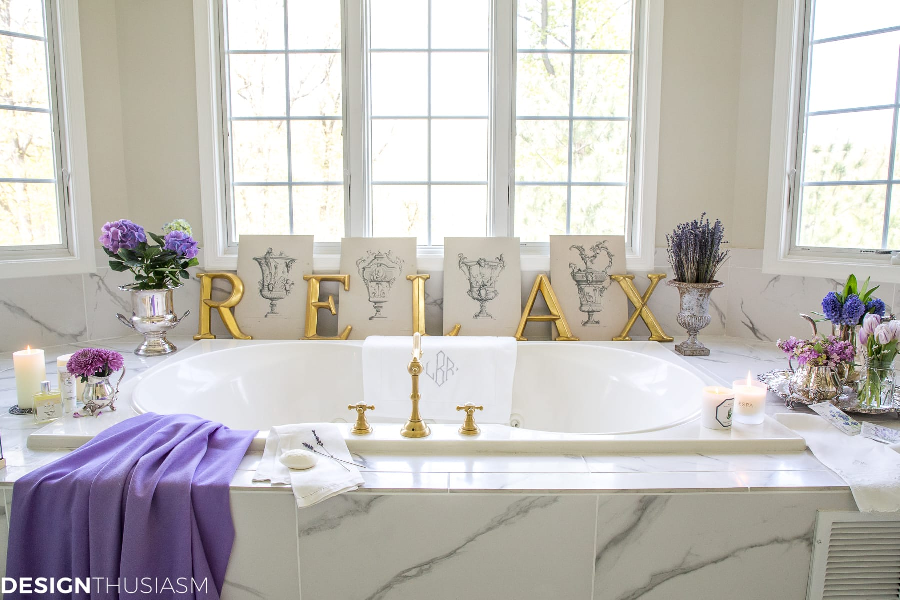 20 Minute Decorating Summer Refresh For Your Bathroom Decor