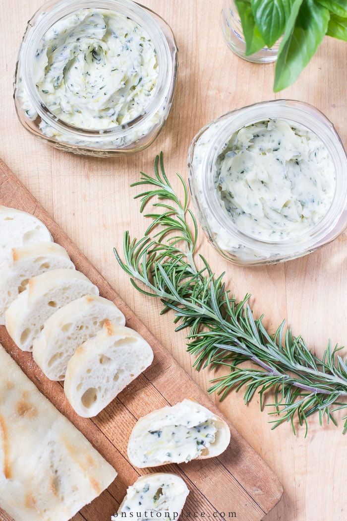 Herbed Butter Recipes from On Sutton Place