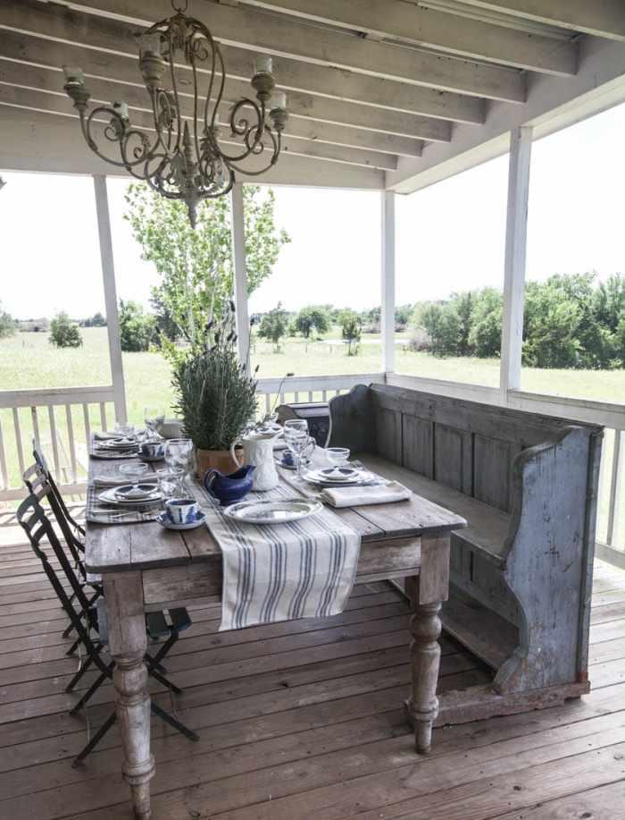 cedar hill farmhouse porch