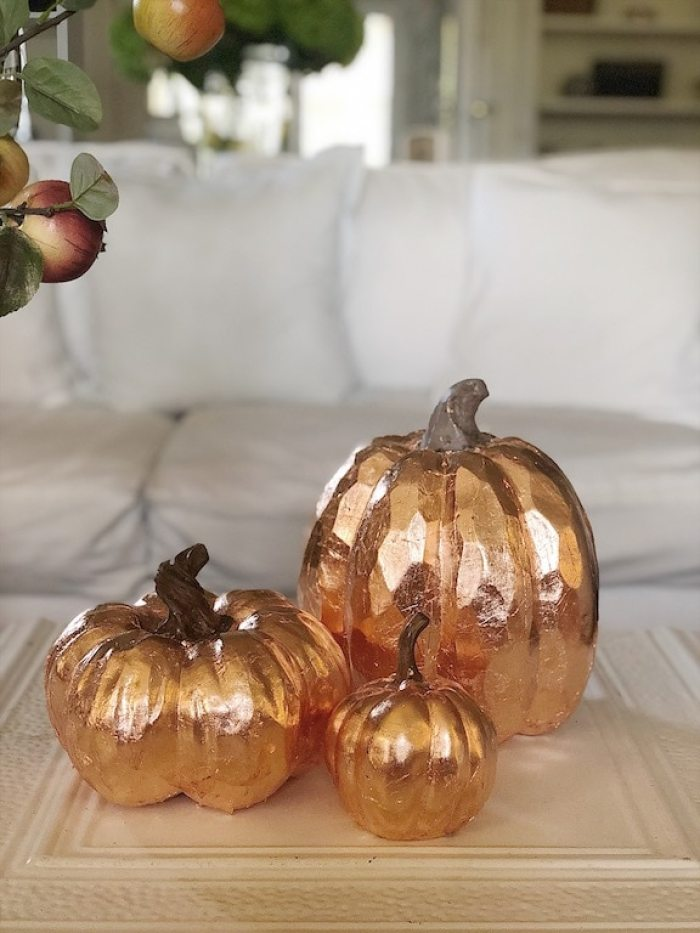 How to make copper pumpkins