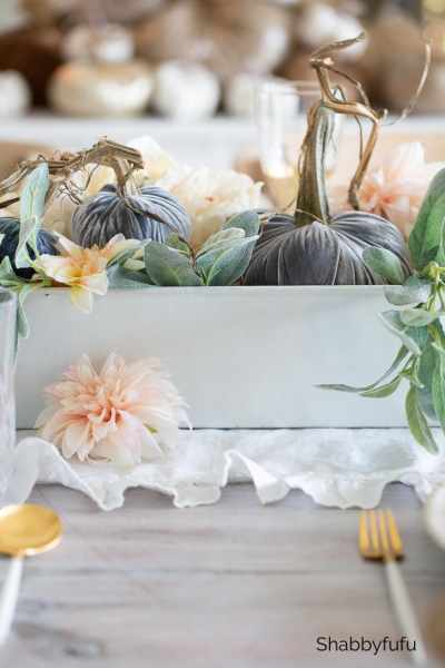 fall table setting styled + set 2019