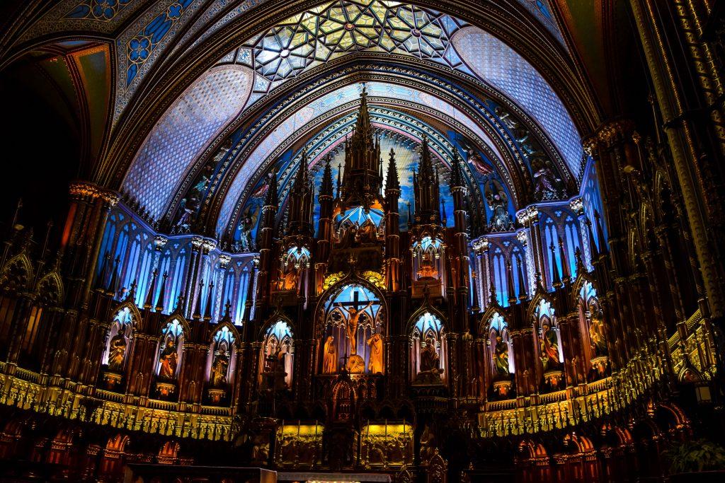 Montreal Notre Dame Basilica - Interior