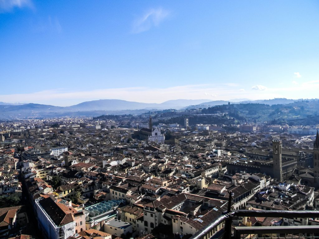 Florence, Italy - Duomo, Campanile, & Piazza Michelangelo